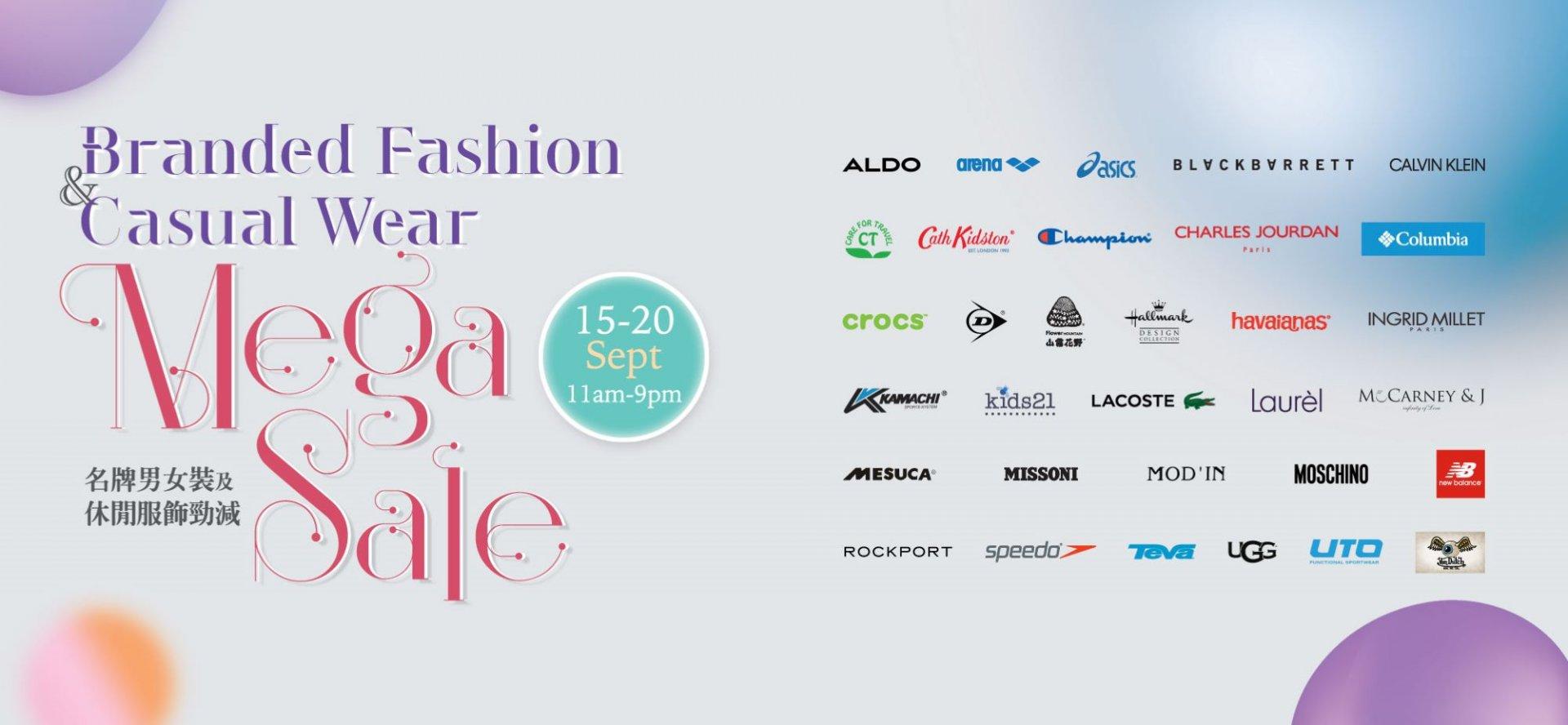Branded Fashion & Casual Wear Mega Sale