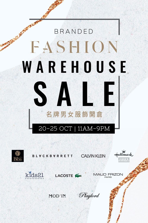 Branded Fashion Warehouse Sale